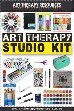 How to Create an Art Therapy Supplies Kit - How to Create an Art Therapy Suppli. - How to Create an Art Therapy Supplies Kit – How to Create an Art Therapy Supplies Kit – - Art Therapy Projects, Art Therapy Activities, Therapy Ideas, Play Therapy, Therapy Tools, Art Projects, Art Therapy Benefits, Writing Therapy, Art Therapy Directives