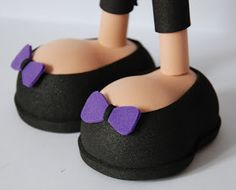 Manualidades en goma eva (foamy). Fofuchas, fofuchas 3D, fofulapiz, muñecas lápiz