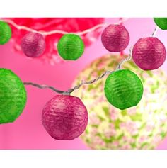 Lilly Pulitzer string of lights!
