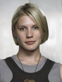 Battlestar Galactica (TV show) Katee Sackhoff as Lt. Kara ``Starbuck'' Thrace