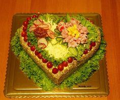 Slaná torta, Slané torty