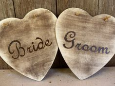 Rustic Heart Wedding Signs would be great to hang in any space over the main table, above the bride and groom, two brides or two grooms. Wedding Themes, Wedding Signs, Wedding Stuff, Wedding Decorations, Barn Weddings, Country Weddings, Decorating Ideas, Decor Ideas, Gift Ideas