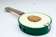 Introducing the Avocado Ukulele - Foodista.com
