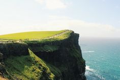 There is nowhere more beautiful than Ireland's Cliffs of Moher.