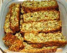 Growwe (all Bran) Beskuit Kos, My Recipes, Baking Recipes, Favorite Recipes, Cake Recipes, Bread Recipes, Dessert Recipes, Rusk Recipe, Recipe Box