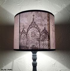 New Black and White Lampshade