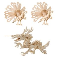 3D wood dragon peacock  puzzles for children adults animals puzzles vehicle puzzles wood toys  for learning and educational toys #>=#>=#>=#>=#> Click on the pin to check out discount price, color, size, shipping, etc. Save and like it!