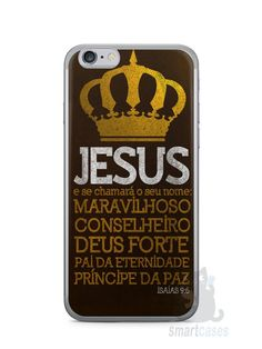 Capa Iphone 6/S Jesus #4 - SmartCases - Acessórios para celulares e tablets :)