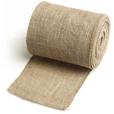 Ling's moment Burlap Roll Serged Edges, 6 Inches x 10Yards, Makes 4 DIY Chair Sashes in 5 Minutes! ** Visit the image link more details.