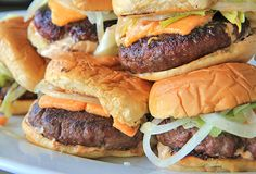 Perfect Grilled Cheeseburgers with Special Sauce
