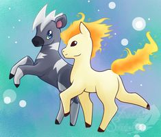 #PDDC15 Day Six- Blitzle and Ponyta by FeatherStitched on DeviantArt