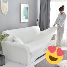 Waterproof Sofa Cover A Fresh, New Look for Your Home😍 Make your room feel brand new with just one cover! No new furniture needed!✨ 🤩Protects against dust, stains and wears!