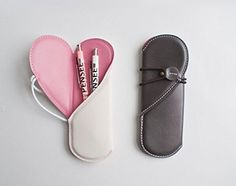 Finex® *Set of 2* Premium PU Leather Heart Shaped Carrying Pouch for Pen Stylus Mobile FINEX http://www.amazon.com/dp/B01BR06EJ2/ref=cm_sw_r_pi_dp_EiSfxb0X7HMEJ