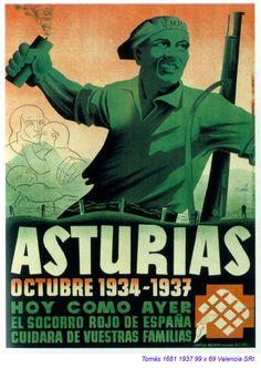 Guernica, Picasso et la guerre d'Espagne Party Poster, Poster On, Spanish War, Civil War Art, Political Posters, Guernica, Revolutionaries, Vintage Posters, Modern Times
