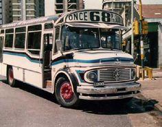Colectivo LO 1114, línea 68. Mediados de los años 80. Nostalgia, Red Bus, Best Web, Destiel, Mercedes Benz, Volkswagen, Retro Vintage, Vehicles, Argentina