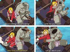This scene!! xD - Fullmetal Alchemist