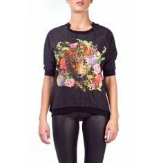 Rene Derhy μπλούζα Graphic Sweatshirt, Sweatshirts, Winter, Sweaters, Fashion, Winter Time, Moda, Fashion Styles, Trainers