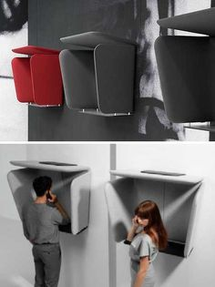 Walky Talky: 12 Concept Mobile Phone Telephone Booths