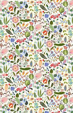 pattern design - 37 by Mariëtte Strik illustration portfolio on Flickr.