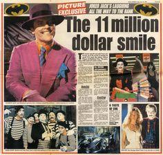Gotham Comics, Dc Comics, Comic Movies, Comic Books, Michael Keaton Batman, Watch The World Burn, I Am Batman, Batman Returns, Jack Nicholson