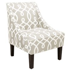 Accent chair in the living room? Too neutral?  Cursif Accent Chair