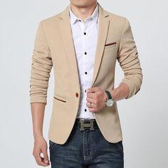 Men Suits FGKKS New Arrival Luxury Men Blazer New Spring Fashion Brand High Quality Cotton Slim Fit Men Suit Terno Masculino Blazers Men