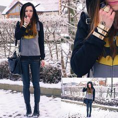 Get this look: http://lb.nu/look/4475563  More looks by Agata P: http://lb.nu/agatap  Items in this look:  Romwe Batman Hoodie, Primark Pants, Primark Boots