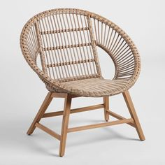 Inspired by the coastal town in South Africa, our Durban outdoor chair is designed with a wide-open affect, round silhouette, a comfortable reclined seat and a stylish neutral hue. Standing on lightweight yet durable metal legs, this piece is crafted of weather-resistant resin wicker woven in a linear pattern for a modern look. Highs and lows in the multi-tonal wicker add to its natural beauty.