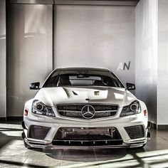 Superb Mercedes C63 Black Series.