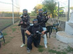 Attenti a quei tre #paintball