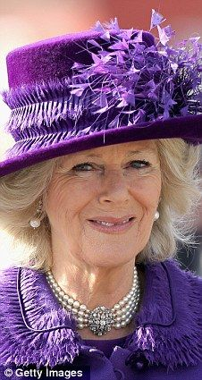 The Duchess of Cornwall on Royal duty recently in Copenhagen.