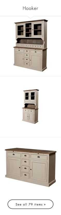 """""""Hooker"""" by pion2012 ❤ liked on Polyvore featuring home, furniture, storage & shelves, display units, drawer furniture, narrow furniture, sideboards, house, narrow sideboards and tables"""