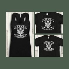 b6895734 Army Emblem Shirt | U.S. Army | Military | Boot Camp | Deployment | Support  | Graduation | Army Family | Special Forces | Group | Custom