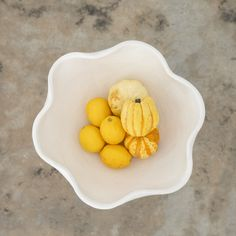 Large View Large Bowl, Large White, Natural Materials, Shapes, Ceramics, Fruit, Terracotta, Collection, Organic