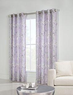 Elegant Damask Window Treatments