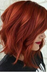 42 Ideas Hair Copper Bob Balayage – Women and Fashion Red Copper Hair Color, Ombre Hair Color, Dark Copper Hair, Short Copper Hair, Color Red, Red Ombre, Hair Colour, Copper Balayage, Balayage Hair
