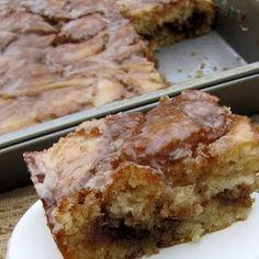 Cinnamon Roll Cake! #cinnamon #desserts #cake