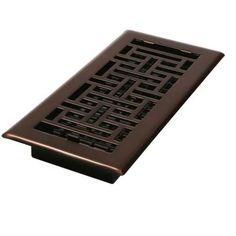Decor Grates 2-1/4 in. x 12 in. Steel Floor Register-AJH212-RB - The Home Depot