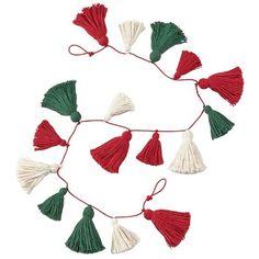Tassle Garland, Diy Tassel, Pom Pom Garland, Diy Garland, Pom Pom Tree, Garland Decoration, Garland Ideas, Tassels, Christmas Yarn