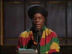 Def Poetry: Mutabaruka-  Dis Poem (Official Video)