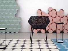 Dandelion, Stone and Casa Tiles by Claesson Koivisto Rune