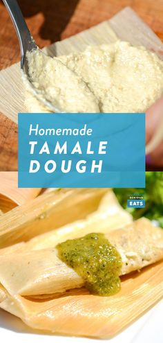 This master dough recipe for Mexican tamales starts with either fresh masa (the nixtamalized corn dough used to make tamales and tortillas) from a tortilleria or masa harina (nixtamailzed corn flour t Corn Masa Recipe, Masa Harina Recipe, Corn Flour Recipes, Recipes With Flour Tortillas, Fresh Corn Tamales Recipe, Tamale Dough Recipe, Best Tamale Recipe, Masa Recipes, Dulce De Leche