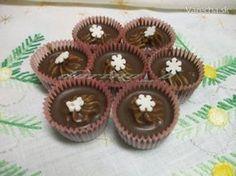 Keďže milujem gaštanové pyré, vymyslela som si tieto košíčky, oproti minulému roku prešli malou úpravou. Czech Recipes, Russian Recipes, Baking Cupcakes, Cupcake Cakes, Christmas Baking, Christmas Cookies, Eid Sweets, Mini Cakes, Food Hacks
