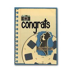 Congrats Rub On Punch Card