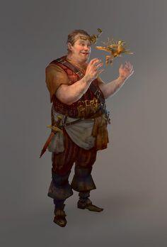 Dron - Character Design, Thomas Brissot on ArtStation at https://www.artstation.com/artwork/41xq