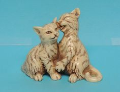 Collectible Decorative Cat Kitten Kitty Figurine Tabbies | eBay