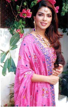 Priyanka. Because we share the same name