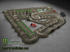 2014 Monster Energy AMA Supercross Track - Anaheim 3