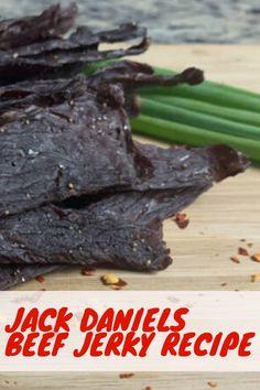 Jack Daniels Beef Jerky Recipe: A Match Made in Heaven - Beef Jerky Hub Jack Daniels Beef Jerky Recipe, Brown Sugar Beef Jerky Recipe, Ground Beef Jerky Recipe, Beef Jerky Marinade, Deer Jerky Recipe, Venison Jerky Recipe, Recipe Marinade, Smoked Beef Jerky, Teriyaki Beef Jerky