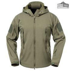 sadness n Men's Soft Jacket Outdoor Camouflage Fleece Hooded Coat Best Winter Coats USA Jacket Images, European Dress, Best Winter Coats, Tactical Jacket, Boys Online, Line Shopping, Outdoor Outfit, Outdoor Living, Outdoor Rooms
